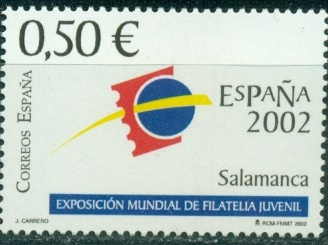 Spain, 2002, Philatelic Exibition, 1v