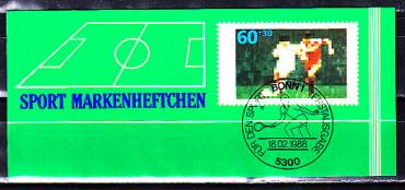 Germany, European championship 1988, booklet