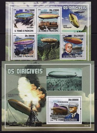 Sao Tome and Principe, 2009 Airships m\s s\s